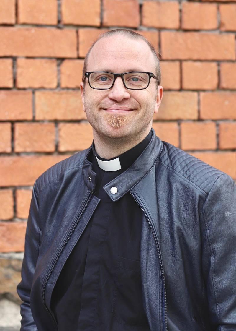 Mats Nyström, präst i S:t Clara kyrka.