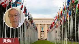 FN behövs i dessa turbulenta tider