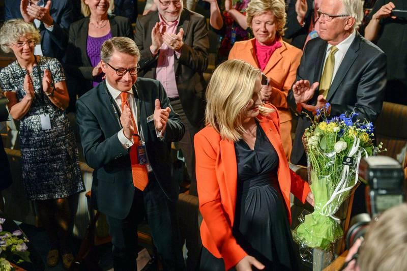 Ebba Busch Thor tog över som KD-ledare 2015 och många förknippar partiets stramare hållning i migrationsfrågan med henne.