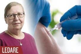 Dubbla skäl att kavla upp ärmen för coronavaccin