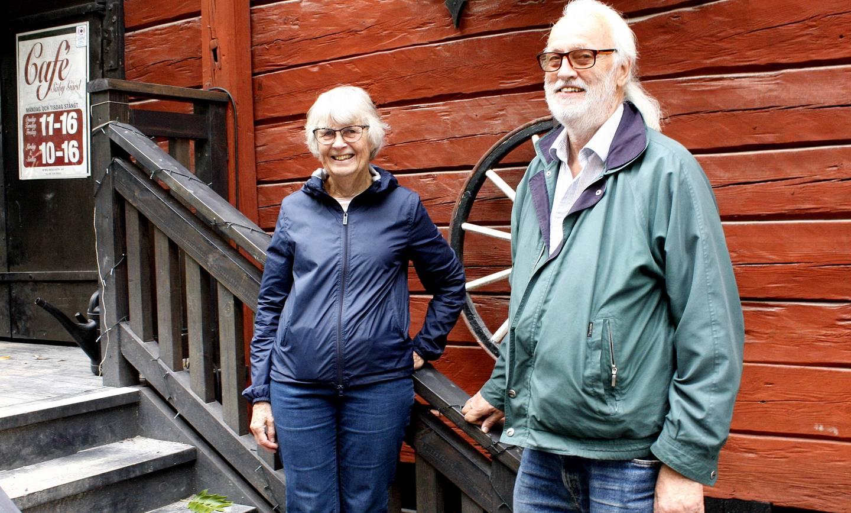 Astrid Emanuelsson och Urban Norstedt i Säby Gård.