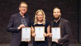 Högtidligt då årets evangelister prisades i Falun