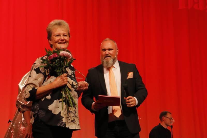 DagenGalan 2020 med årets medmänniska Helén Olsson