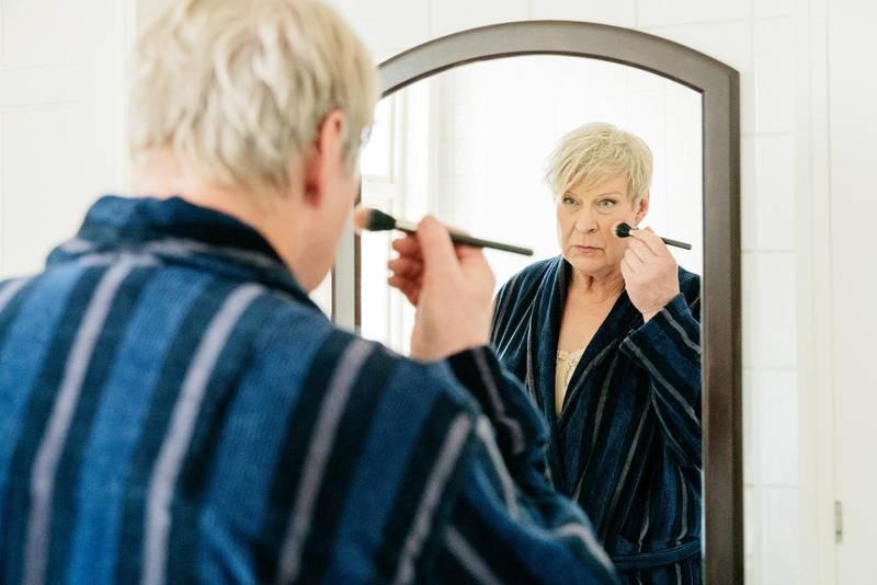 """Rolf Lassgård spelar huvudrollen i filmen """"Min pappa Marianne"""" som hade biopremiär förra veckan."""