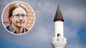 Micael Grenholm: Om böneutrop förbjuds kan vi hindras predika Jesus
