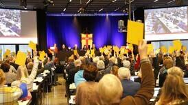 SD vill skapa ett konservativt block i kyrkan