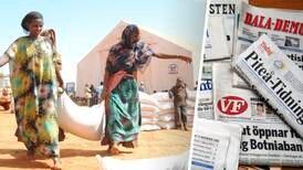 Fem fel om bistånd i svenska medier