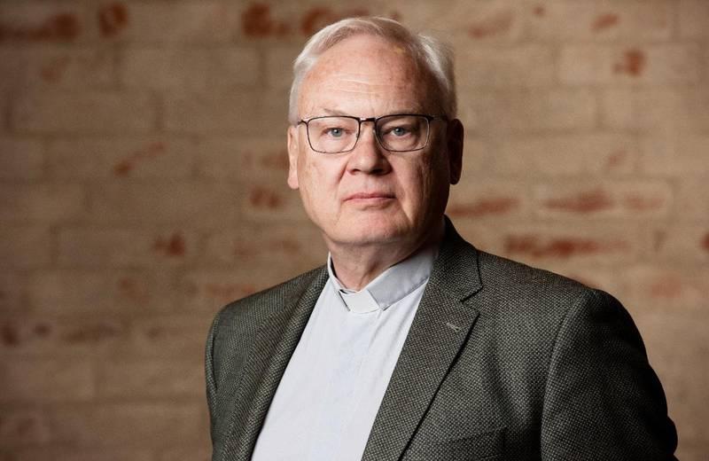 Per Svensson, nyligen pensionerad kyrkoherde i S:t Pauli kyrka, Malmö.