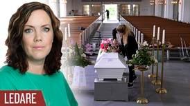 Dödströtta fördomar från Humanisterna om begravningar