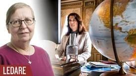 Religionsfrihet är tydligen helt utan intresse för Ann Linde