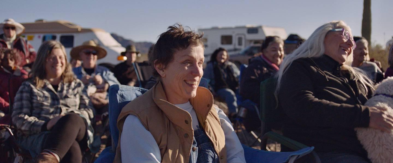 """Frances McDormand i filmen """"Nomadland""""."""