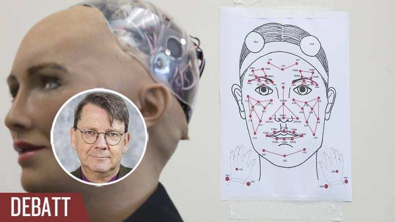 Humanoidroboten Sophia.