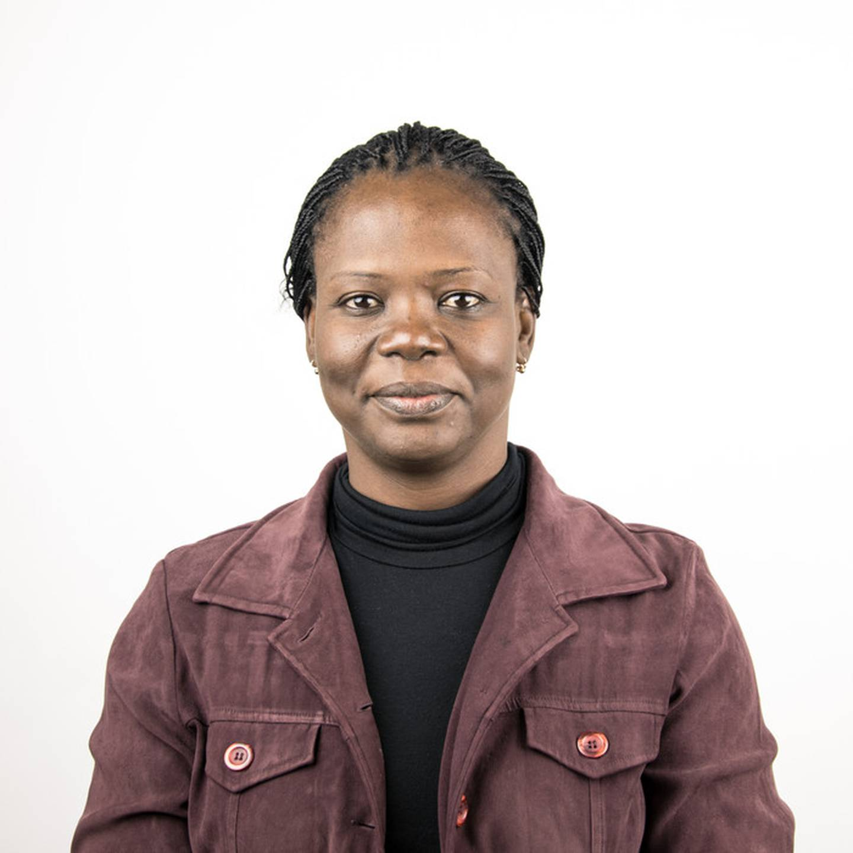 Fatimata Ouedraogo, jobbar för Erikshjälpen i Västafrika