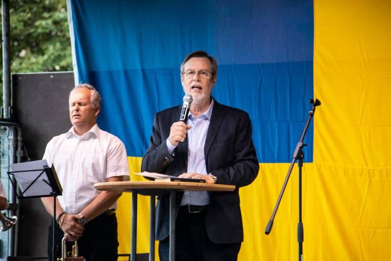 Lars Enarson. Bilden är från ett annat sammanhang.