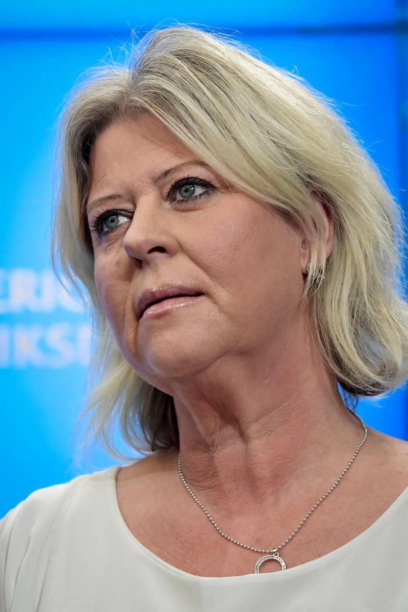 Camilla Waltersson Grönvall.