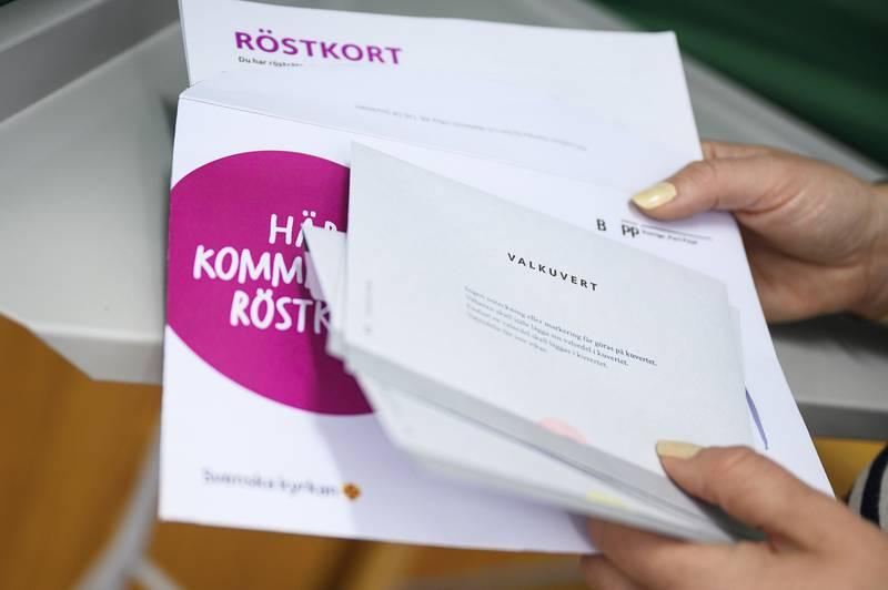 Svenska kyrkans pressbilder inför Kyrkovalet 2021.