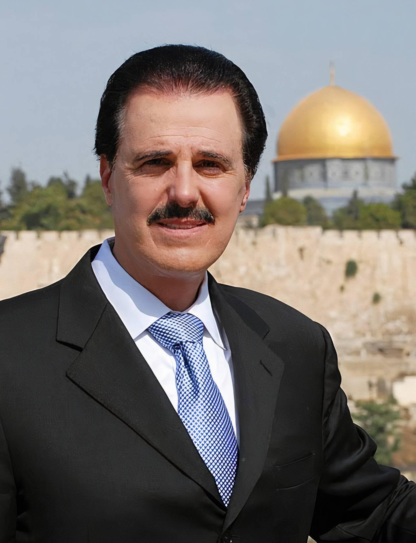 Mike Evans, grundare av flera Israelvänliga organisationer och som även var rådgivare till Donald Trump.
