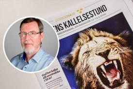 Lars Enarson: Swärd är cynisk och hädisk