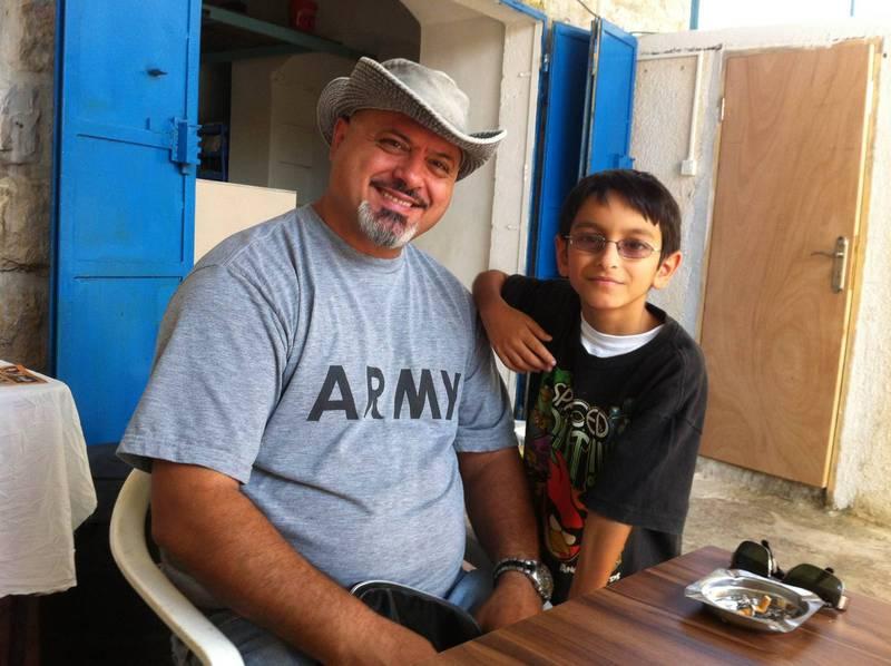 Palestiniern Said Awwad är verksam som evangelikal missionär, med målet att nå både kristna och muslimer.
