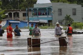 Orkandrabbade i Centralamerika får hjälp från Sverige