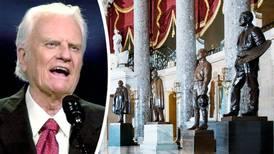 Billy Graham blir staty i regeringsbyggnad