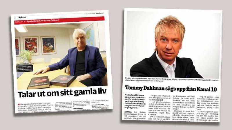 Publicering i Dalslänningen  19/11-2019, och Smålandsposten 26/11-2019.