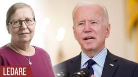 Joe Biden har lång väg kvar till helad nation