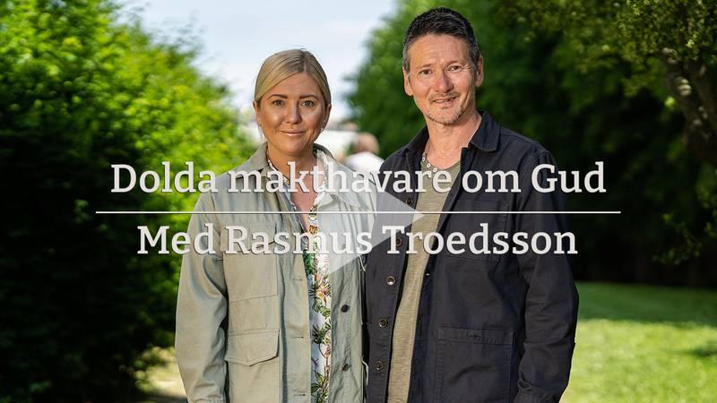 """Anna Shimoda och Hans Shimoda gästar Dagens intervjuserie """"Dolda makthavare om Gud."""" Rasmus Troedsson leder intervjuerna."""