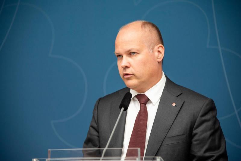 Migrations- och justitieminister Morgan Johansson (S).