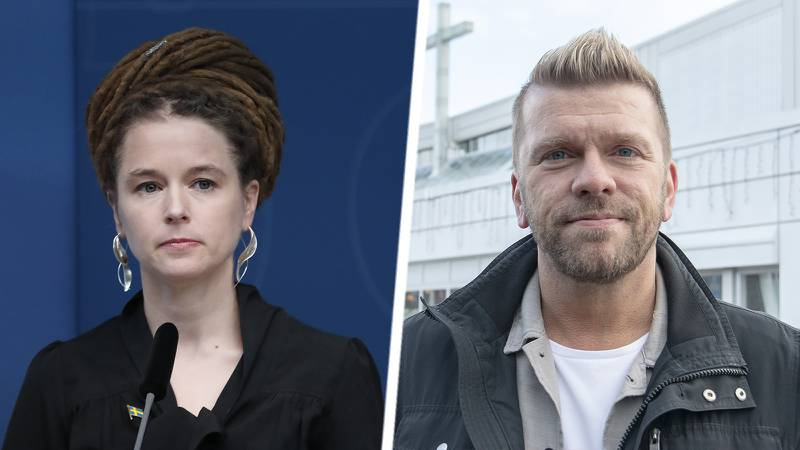 Amanda Lind och Joakim Lundqvist.