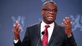 Skyddet av Denis Mukwege diskuterades i riksdagen