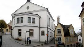 Nazister dök upp i kyrkan under Almedalen