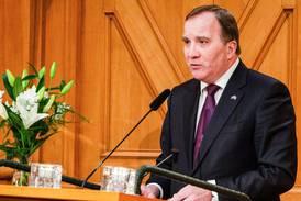 Statsministern deltog i minnesstund över Förintelsen
