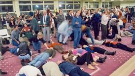 Kristna vallfärdade när Torontovälsignelsen kom till Sverige