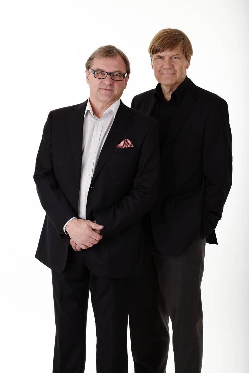 Peter Sandwall och Lars Mörlid, Erikshjälpen.