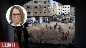 Ansvaret för konflikten vilar tyngst på Israel