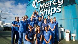 Mercy Ships missionsbåt i ny utställning