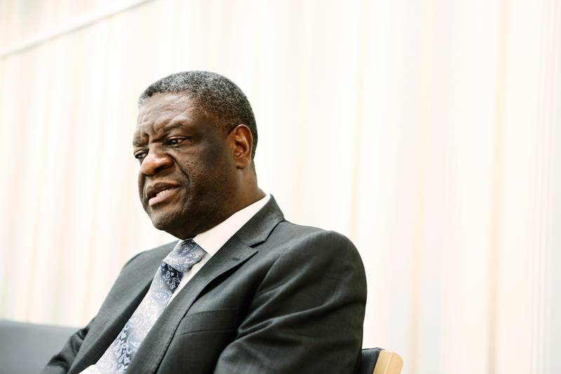 September 24, 2014 - Bukavu, Congo: Congolese gynecologist Doctor Denis Kukwege. On October 21, European lawmakers have unanimously awarded their top human rights prize, the Sakharov Prize, to Mukwege who campaigns against sexual violence targeting women in war. Mukwege, 59, set up the Panzi Hospital in eastern Congo's Bukavu in 1998 and still works with victims of sexual violence there. On January 1, 2015, the Congolese hospital renowned for treating war rape victims has had its bank accounts frozen for alleged tax fraud, preventing it from paying its staff and prompting them to go on strike. The Panzi Hospital in Bukavu, run by Dr Denis Mukwege, says it is being unfairly targeted by the authorities in Democratic Republic of Congo. (Jukka Grondahl/MV Photos/Polaris)