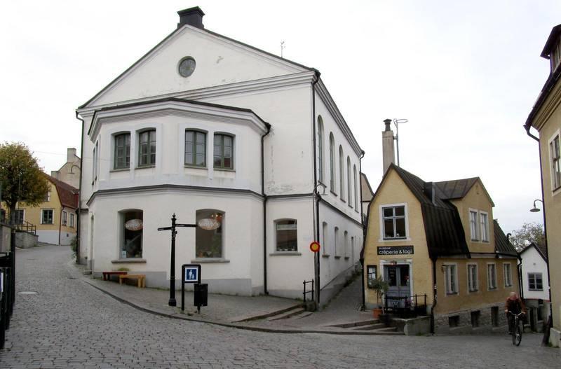 Vårdklockans kyrka i Visby.