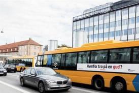 Kristen bussreklam stoppas