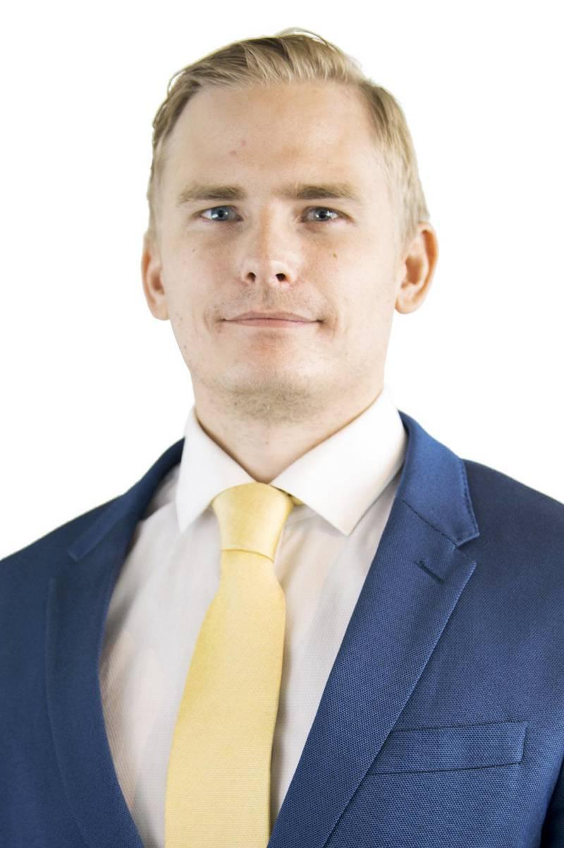 SD:s presschef Henrik Gustafsson.