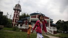 Kyrkor måltavla för armén i Myanmar