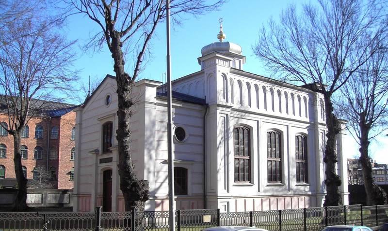 Synagogan i Norrköping.
