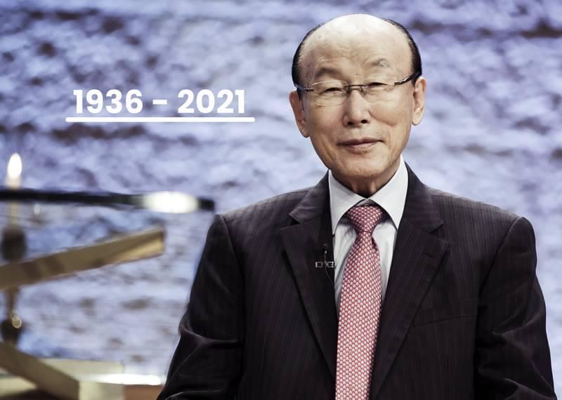 2013 talade David Yonggi Cho på Europakonferensen.
