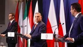 """Nationalister vill skapa EU-block byggt på """"judisk-kristet arv"""""""