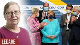 Svårlagt pussel efter tyska valet