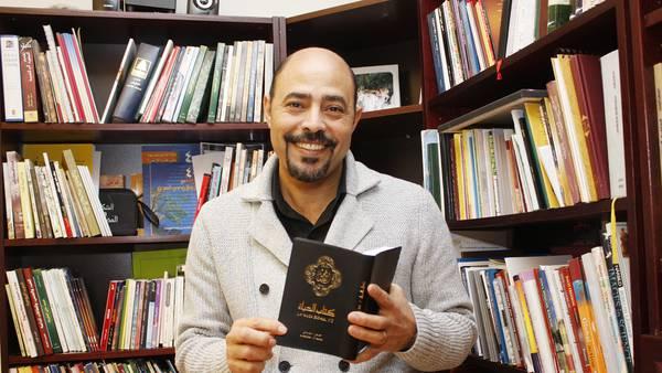 Pandemin har inte stoppat Merzek Botros arbete bland arabisktalande
