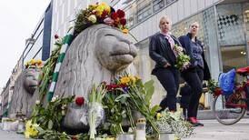 Kristen manifestation mot våld i Stockholm