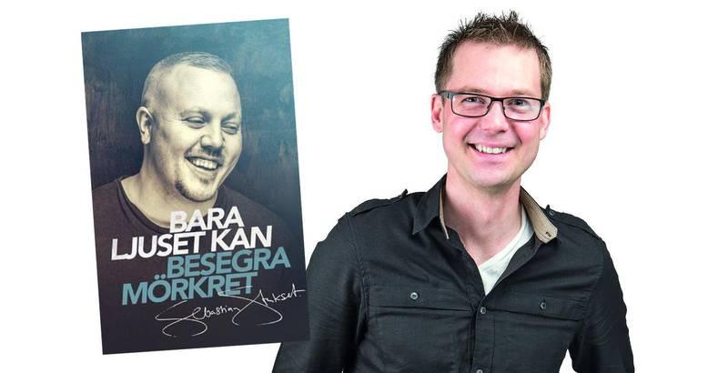 """Sjöbergs förlag trycker upp och 100 000 exemplar av Staksets """"Bara ljuset kan besegra mörkret"""" för gratis utdelning."""