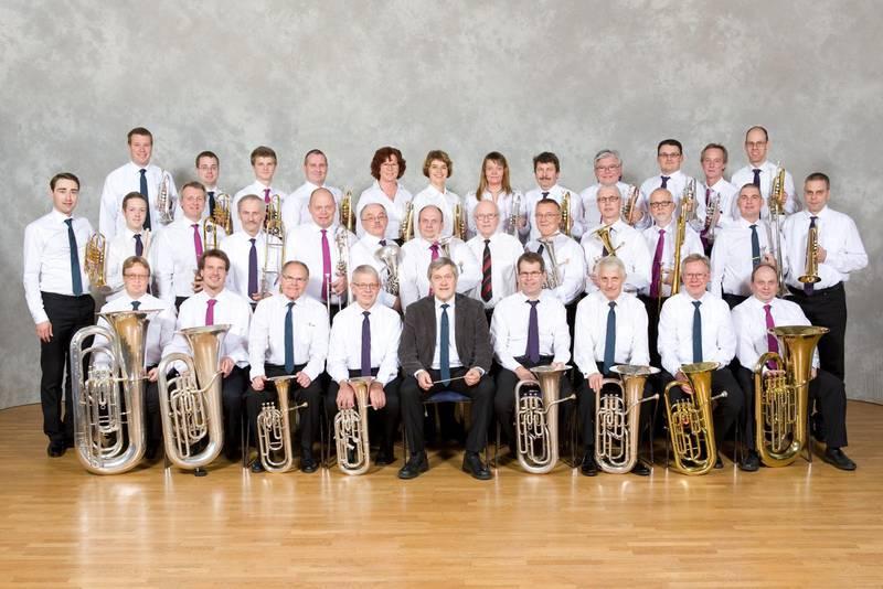 Avesta Gospel Brass band 2010.